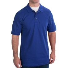 WearGuard WearTuff Pique Polo Shirt - Short Sleeve (For Men) in Royal - Closeouts