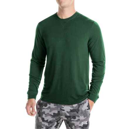 Weatherproof 32 Degrees Brushed Heat Sweatshirt (For Men) in Deep Forest - Closeouts