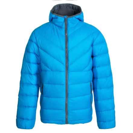 Weatherproof 32 Degrees Packable Down Jacket - 550 Fill Power, Hooded (For Little and Big Boys) in Royal - Closeouts