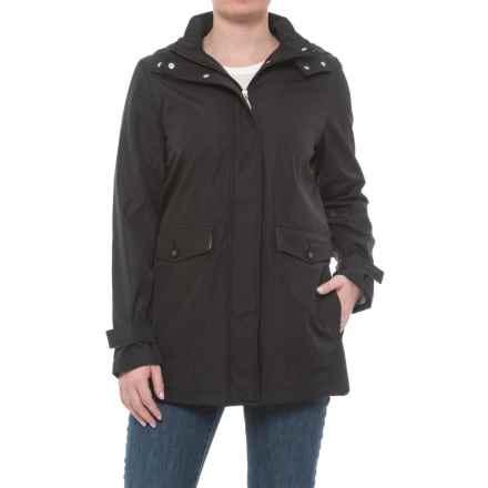 Weatherproof Bonded Topper Jacket (For Women) in Black - Closeouts