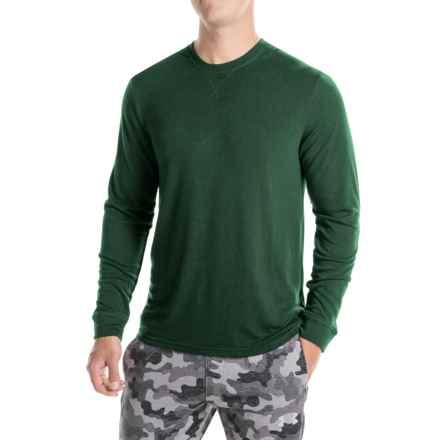 Weatherproof Brushed Heat Sweatshirt (For Men) in Deep Forest - Closeouts