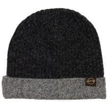 Weatherproof Chunky Beanie - Fleece Lined (For Men and Women) in Charcoal/Grey - Closeouts