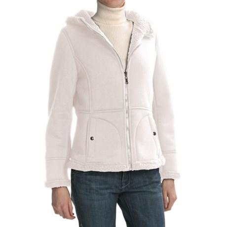 Weatherproof Cozy Bonded Fleece Jacket (For Women) in Cream