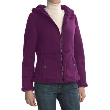 Weatherproof Cozy Bonded Fleece Jacket (For Women) in Plum - Closeouts