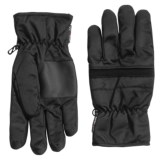 Weatherproof Digital Palm Patch Gloves - Insulated (For Men)