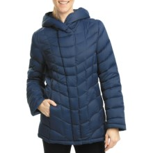 Weatherproof Down Quilted Jacket (For Women) in Pacific Blue - Closeouts