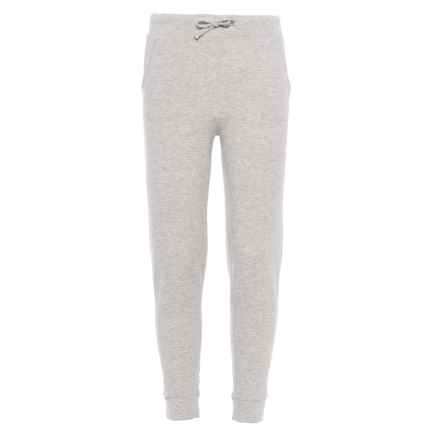 Weatherproof Drawstring Joggers (For Girls) in Heather Grey - Closeouts