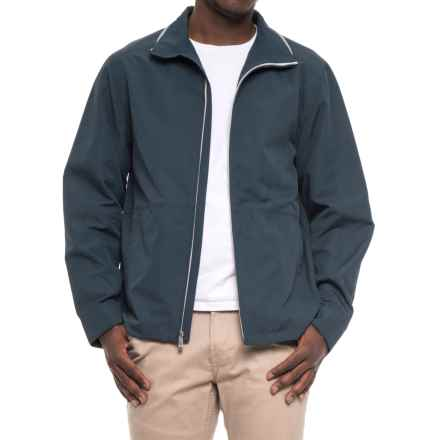 Weatherproof Faille Open Bottom Jacket (For Men) in Lake Blue - Overstock