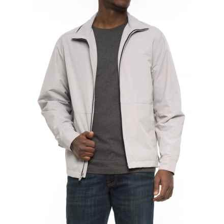 Weatherproof Faille Open Bottom Jacket (For Men) in Vapor - Overstock