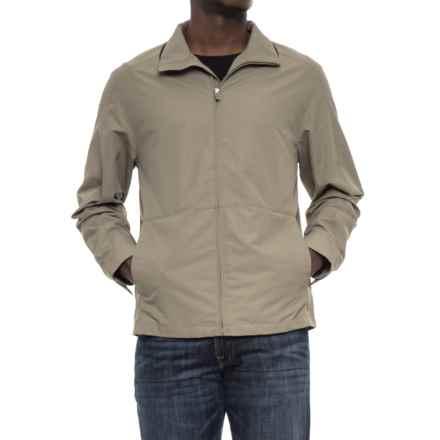 Weatherproof Faille Open Bottom Jacket (For Men) in Willow - Overstock