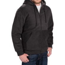Weatherproof Fleece Hooded Jacket (For Men) in Black - Closeouts