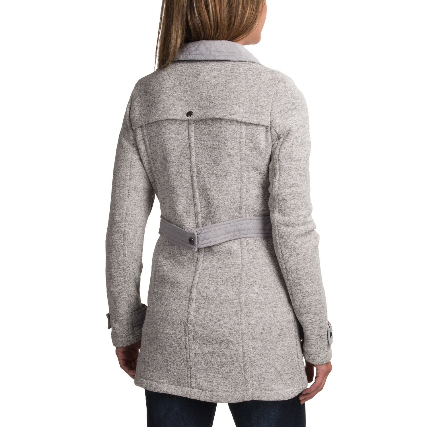 Weatherproof Full-Length Sweater Jacket (For Women) - Save 61%