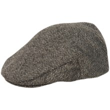 Weatherproof Herringbone Sweater Fleece Driving Cap (For Men) in Grey - Overstock