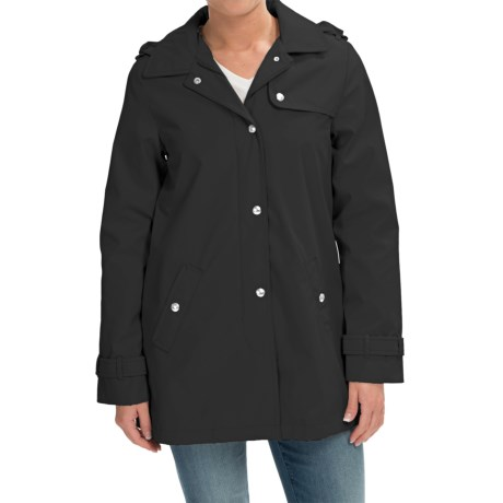 Weatherproof Hooded A Line Jacket (For Women)