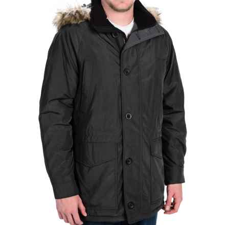 Weatherproof Hooded Parka - Insulated (For Men) in Black - Closeouts