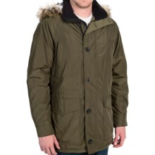 Weatherproof Hooded Parka - Insulated (For Men) in Dill - Closeouts