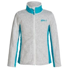 Weatherproof Italia Jacket (For Big Girls) in Cream Heather - Closeouts