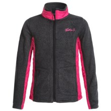 Weatherproof Italia Jacket (For Big Girls) in Grey Heather - Closeouts