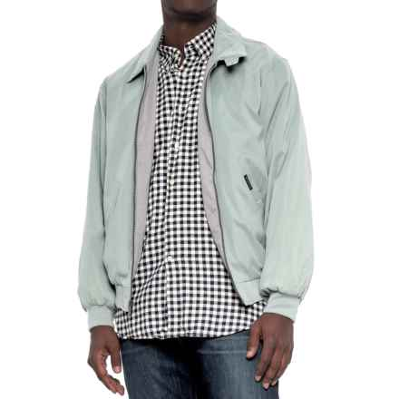 Weatherproof Lightweight Microfiber Jacket (For Men) in Mint - Overstock