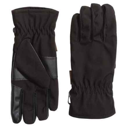 Weatherproof Original Soft Shell Gloves - Waterproof, Touchscreen Compatible (For Men) in Black - Closeouts