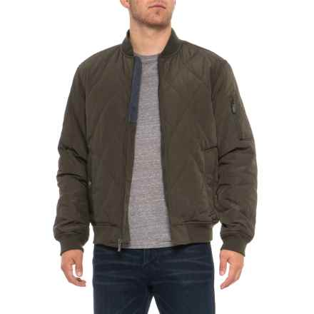 Weatherproof Oxford Quilted Baseball Jacket - Insulated (For Men) in Fatigue - Overstock