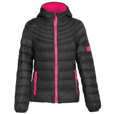 Weatherproof Packable Down Jacket (For Big Girls)