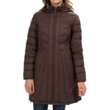 Weatherproof Packable Down Jacket (For Women) in Brown - Closeouts