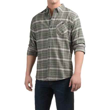 Weatherproof Plaid Flannel Shirt - Long Sleeve (For Men) in Beetle - Closeouts
