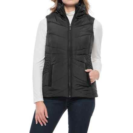 Weatherproof Puffer Vest (For Women) in Black - Closeouts
