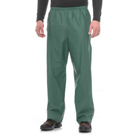 Weatherproof PVC Rain Pants (For Men) in Forrest Green - Closeouts