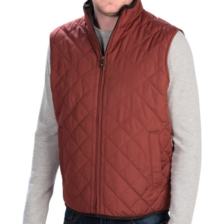 Weatherproof Quilted Vest Fleece Lined (For Men)