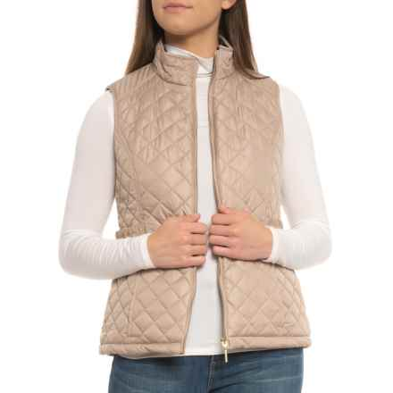 Weatherproof Quilted Vest - Insulated (For Women) in Natural Grain - Closeouts