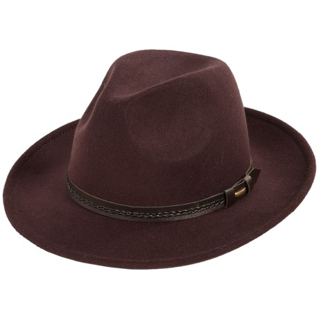Weatherproof Safari Wide Brim Felt Hat (For Men)