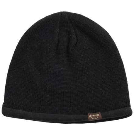 Weatherproof Solid Beanie - Wool Blend, Fleece Lined (For Men and Women) in Black - Closeouts