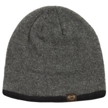 Weatherproof Solid Beanie - Wool Blend, Fleece Lined (For Men and Women) in Charcoal - Closeouts