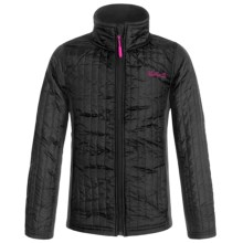 Weatherproof Spyder Jacket (For Big Girls) in Black - Closeouts