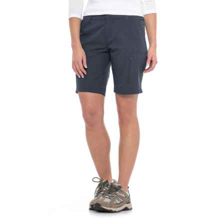 Weatherproof Stretch Shorts (For Women) in Navy - Closeouts
