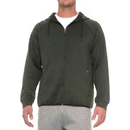 Weatherproof Tech Fleece Hoodie (For Men) in Heather Military Olive - Closeouts