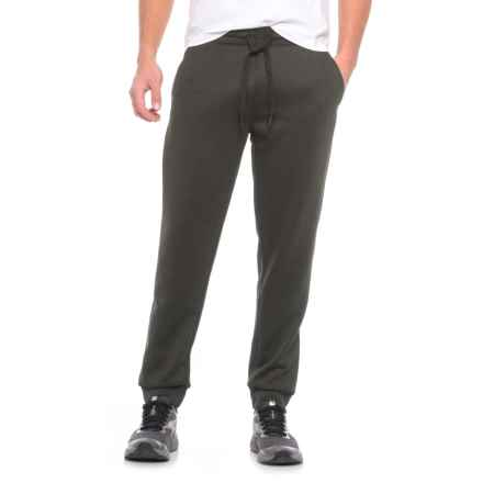 Weatherproof Tech Fleece Joggers (For Men) in Heather Military Olive - Closeouts