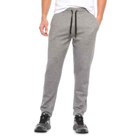 Weatherproof Tech Fleece Joggers (For Men) in Heather Storm - Closeouts