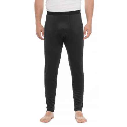 Weatherproof Therma Fleece Base Layer Bottoms (For Men) in Black - Closeouts