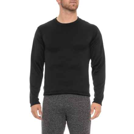 Weatherproof Therma Fleece Base Layer Top - Long Sleeve (For Men) in Black - Closeouts