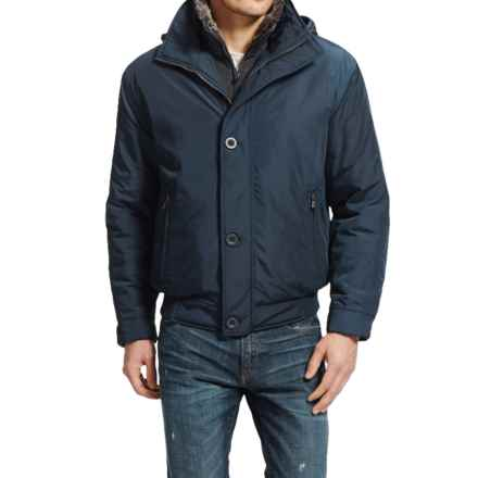 Weatherproof Ultra Oxford Bomber Jacket - Insulated (For Men) in India Ink - Closeouts
