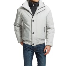 Weatherproof Ultra Oxford Bomber Jacket - Insulated (For Men) in Tusk - Closeouts