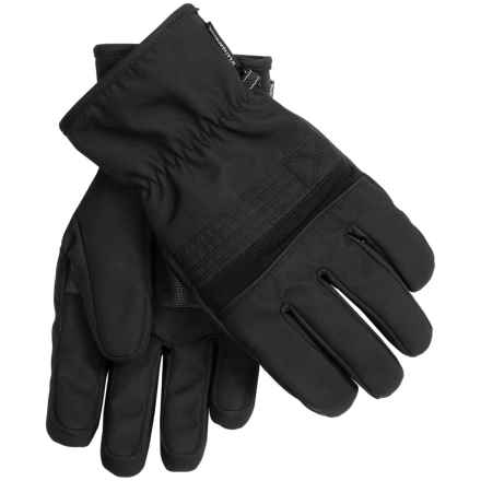 Weatherproof UltraTech Winter Gloves (For Men) in Black - Closeouts