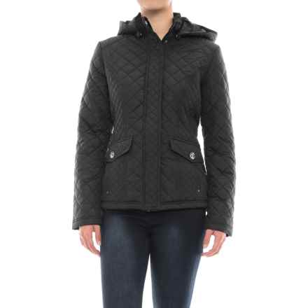 Weatherproof Waist-Length Quilted Jacket - Insulated (For Women) in Black - Closeouts