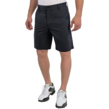 Wedge Club Fit Golf Shorts (For Men) in Black - Closeouts