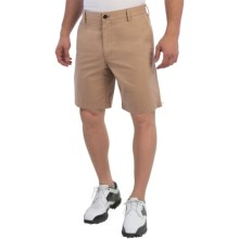 Wedge Club Fit Golf Shorts (For Men) in British Khaki - Closeouts