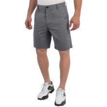 Wedge Club Fit Golf Shorts (For Men) in Grey - Closeouts