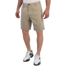 Wedge Club Fit Golf Shorts (For Men) in Khaki - Closeouts